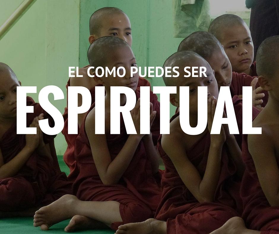 Pasos para ser espiritual - imagen